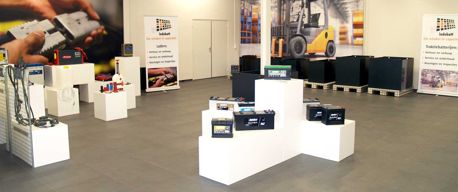 Energiecentrum en showroom Indubatt