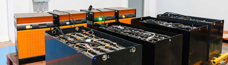 Indubatt tractie batterijen accu's laders heftruck