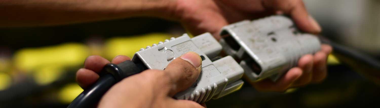 Producten traktiebatterijen en batterijladers