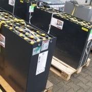 tractiebatterij of traktiebatterij
