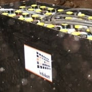 tractie accu batterij in koude omstandigheden