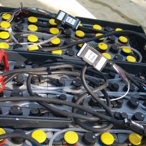 accu batterij monitor Wi-iQ tractie batterij