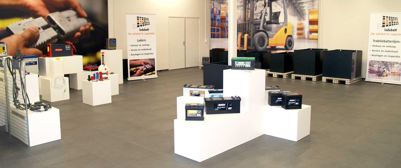 Indubatt Energiecentrum Verhuur Verkoop tractie batterijen accu's en laders